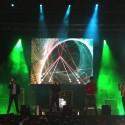 Aurin en concierto.
