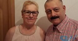 Domingo Malzoni y Esther Quisique