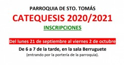 Catequesis 2020/21