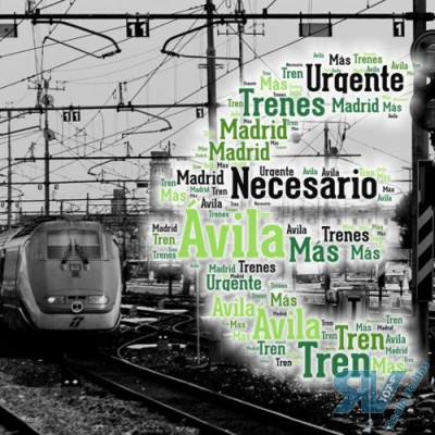 Ávila con el Ferrocarril