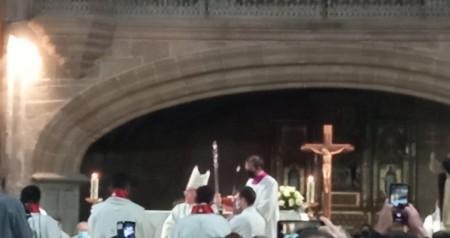 Ceremonia de la ordenación